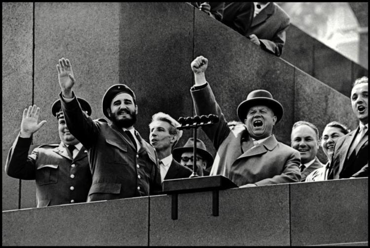 Фидель Кастро и Никита Хрущев