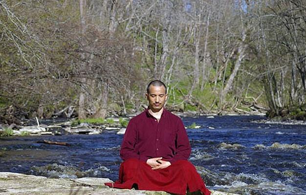 Медитация людей