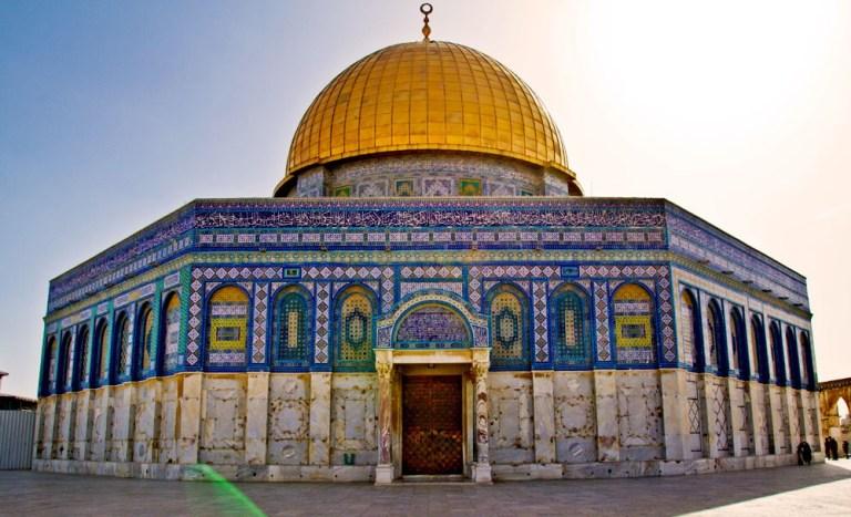 Купол Скалы. Иерусалим – это единый дом для трех религий