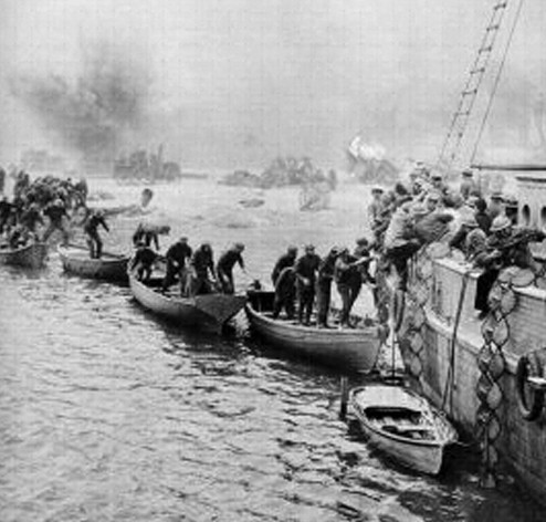 Дюнкерк - сражение  войны