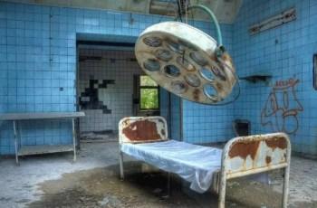 Госпиталь Белиц в Германии. Место сталкеров