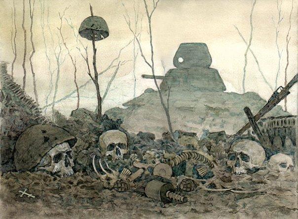 Мясной бор долина смерти.