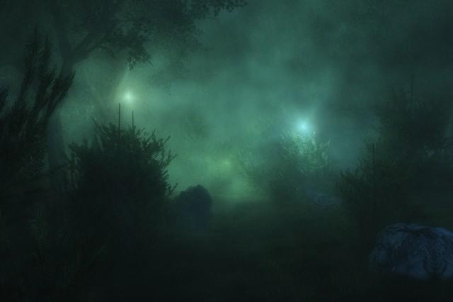 Загадочные огоньки на болотах известны с древних времен
