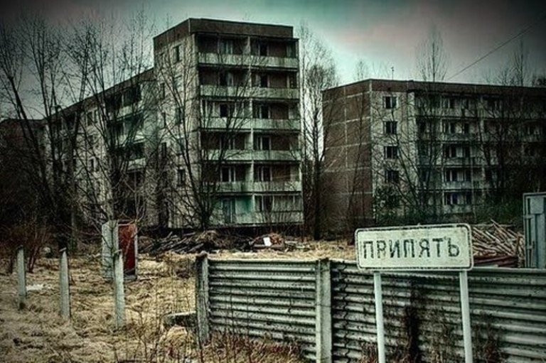 Зона отчуждения. Украина. Время остановилось навсегда