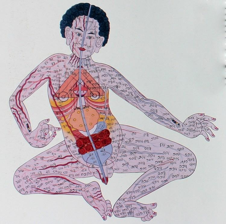 тибетская медицина точки