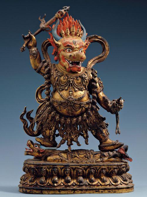 Яма (Ямараджа, Чойджал, Номун-хан, Эрлик) — в буддизме бог смерти, властелин ада и верховный судья загробного царства.