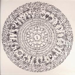 Срунхор Ваджрабхайравы защищает йогина или мирянина, не обязательно имеющего посвящение, от превратностей сансары, конкретизация которых обозначена в концентрических надписях. Тексты и мантры срунхора предназначены для произнесения, но миряне по благословению лам просто носят их как обереги на груди в сложенном виде.