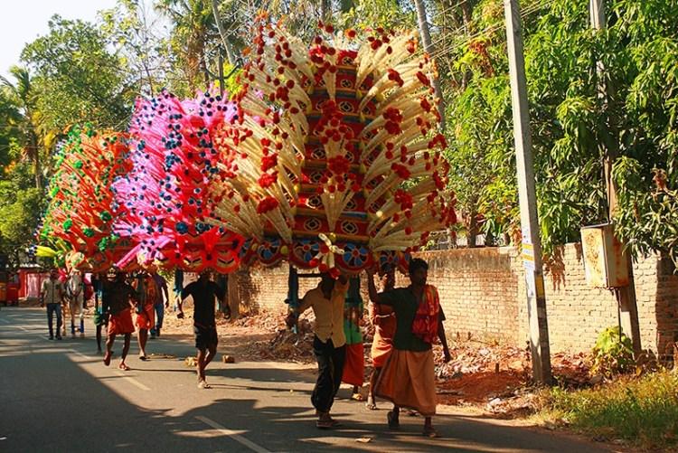 День города Варкалы в штате Керала