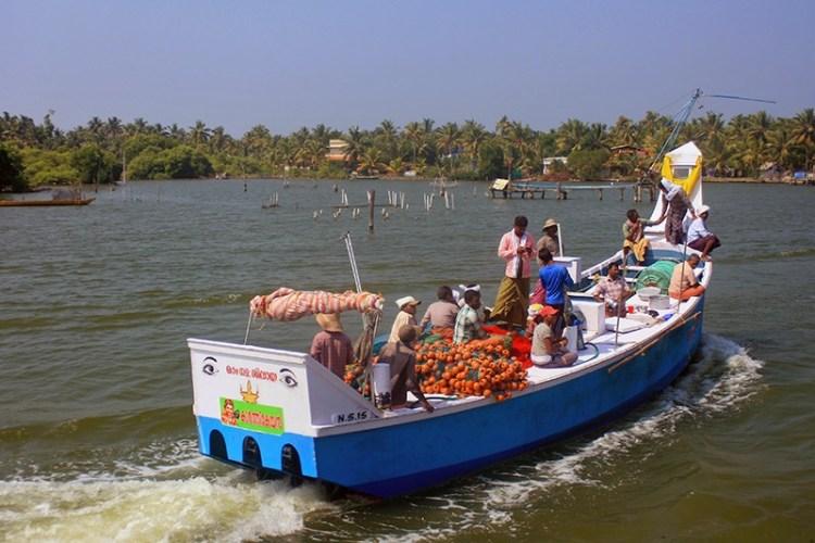Каналы в Керале