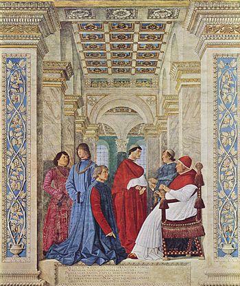 Первый библиотекарь Ватиканской библиотеки 1475 г. Скрытое Ватиканом