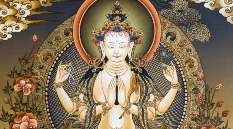 Авалокитешвара белый