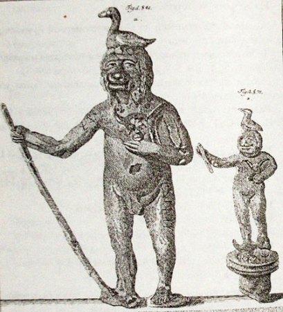Древний идол