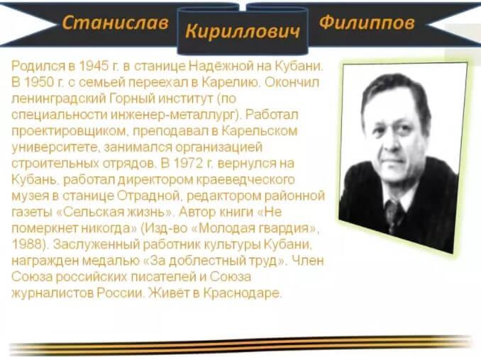 Станислав Кириллович Филиппов