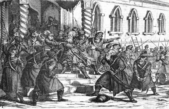 Стрелецкий бунт. Не заплатили служивым людям