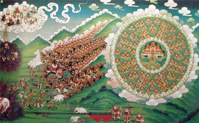 Шамбала страна. Как ее описывают Тибетские ламы