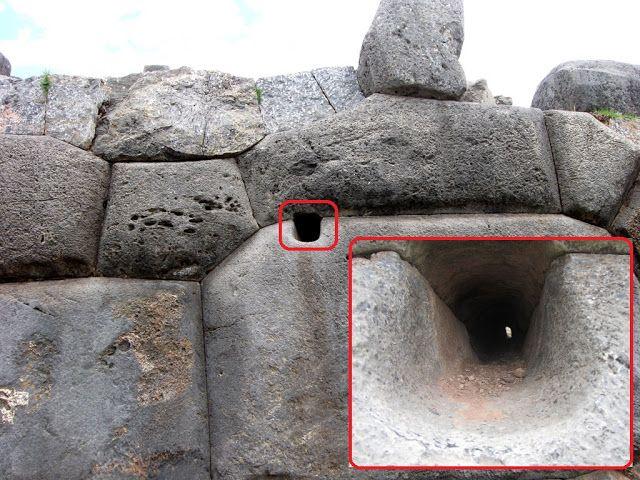 Мегалитический комплекс Саксайуаман в Перу