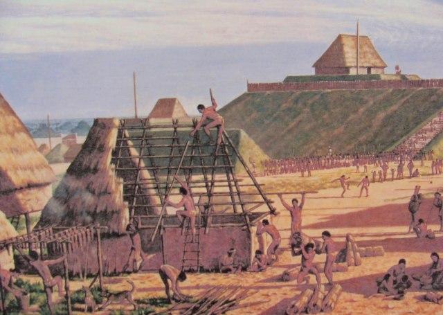 США - Кахокия загадочное индейское поселение