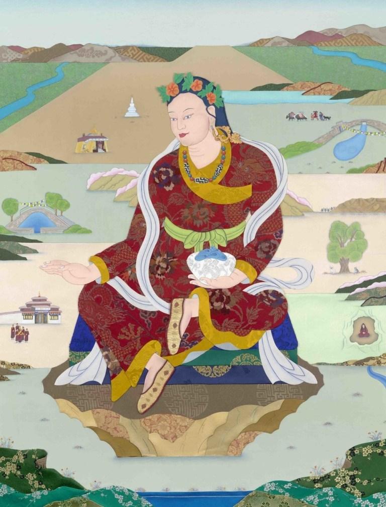Еше Цогьял мистическая принцесса Тибета. Жена Падмасамбхавы