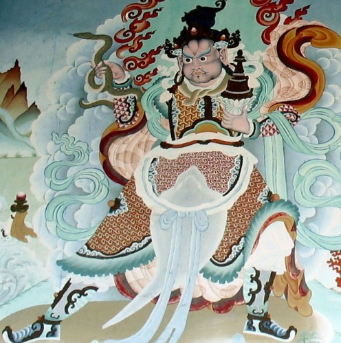 Вирупакша, хранитель Запада