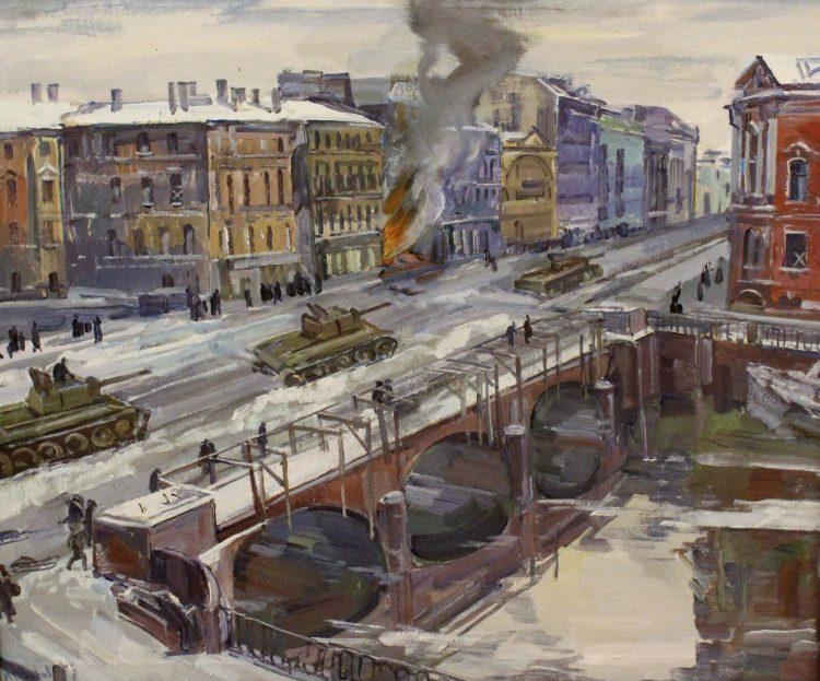 блокада города на неве