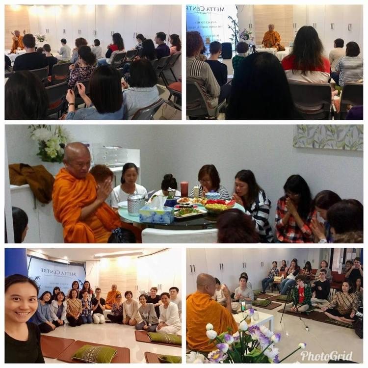 Аджаном Вимоккхой обучние медитации випассаны учеников