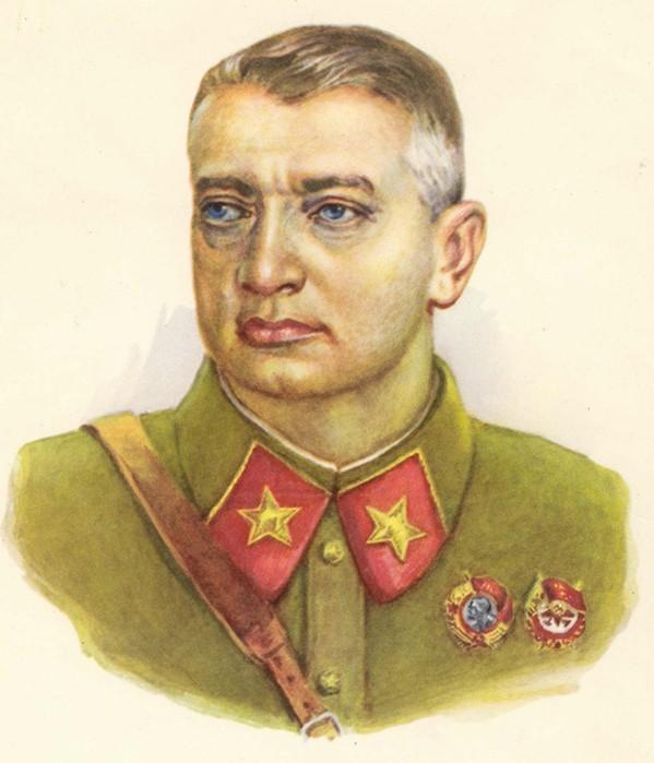 Тухачевский цветное фото