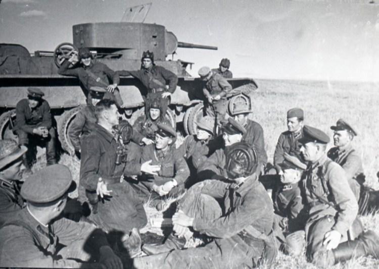 танковая часть в монголии Победа на Халхин-Голе