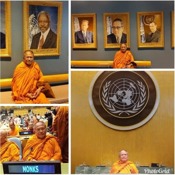 Аджан Вимоккха в ООН
