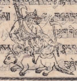 Тибетская астрология. Обзор - божества, демоны, духи местности