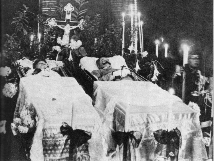 Франца Фердинанда. Похороны