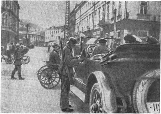 немцы на украине первая мировая