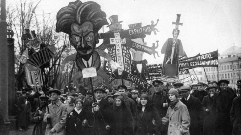 Большевики Против Церкви. Оккультный Вампиризм