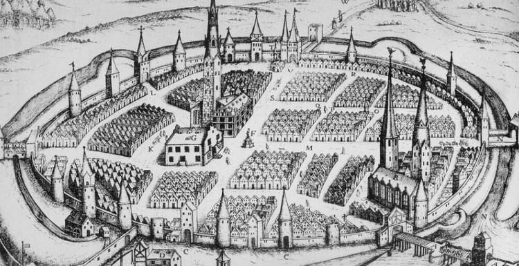 город Гамельн в средние века