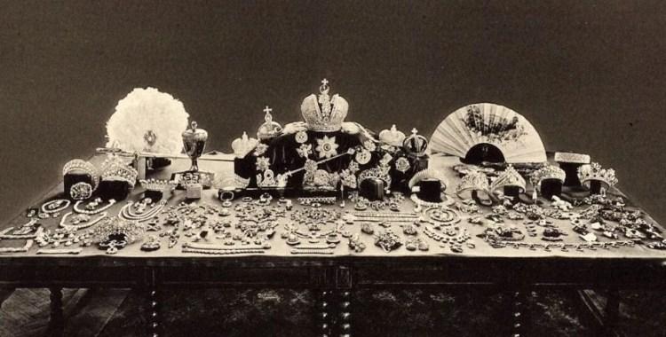 династии Романовых драгоценности