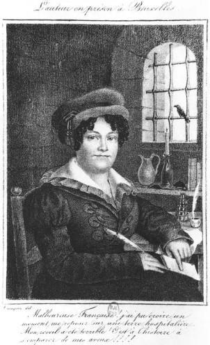Мария Ленорман в старости