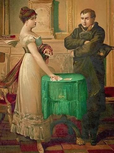 Наполеон и гадалка