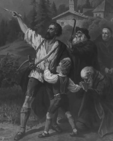 Вильгельм Тель и дети