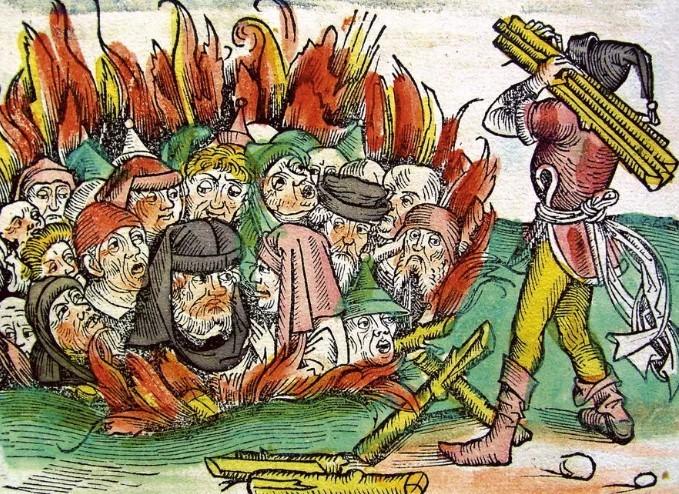 гонение на евреев в Испании в средние века Давид Реубени