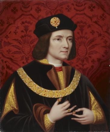 Король Ричард II гравюра