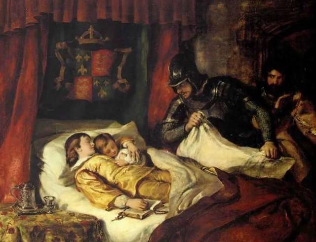 Ричард 3 убийство детей Англия