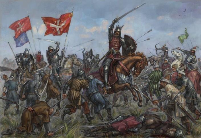 сражение рыцарей англии
