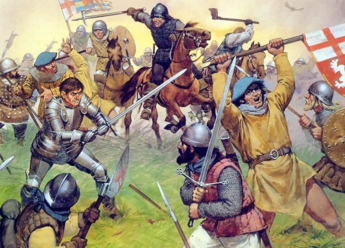 англии сражение