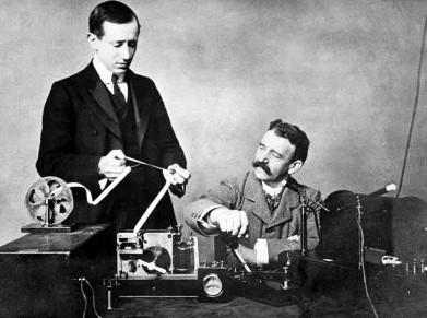 маркони изобрел радио или Попов