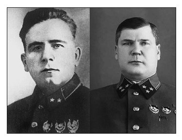 Двое из приговоренных генералов – П.Г. Понеделин и В.Я. Качалов