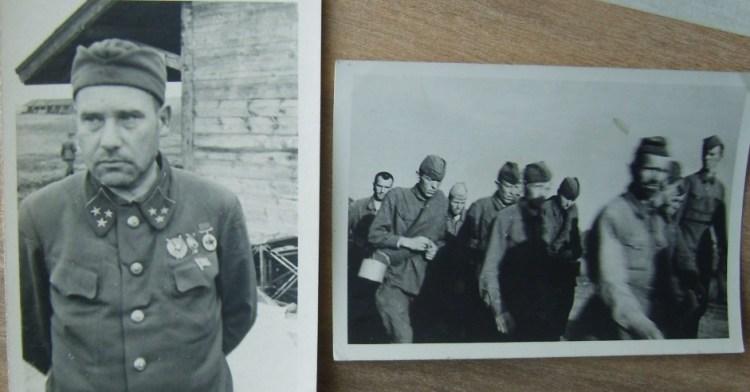 пленные солдаты красной армии