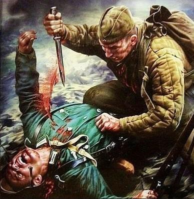бой с немцами