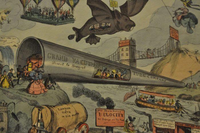 летающие машины 19 века