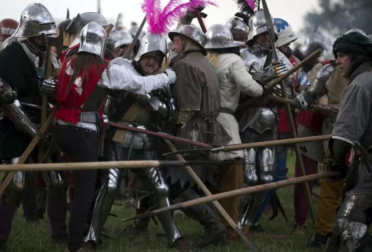 Английское сражение рыцарей
