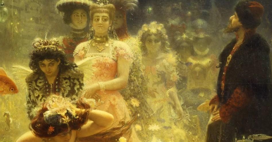Садко в подводном царстве