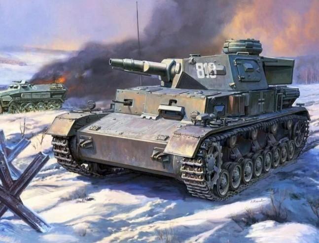 Средний танк Panzerkampfwagen IV